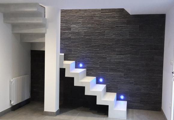 Nouveauté: Notre Escalier Béton en Crémaillère